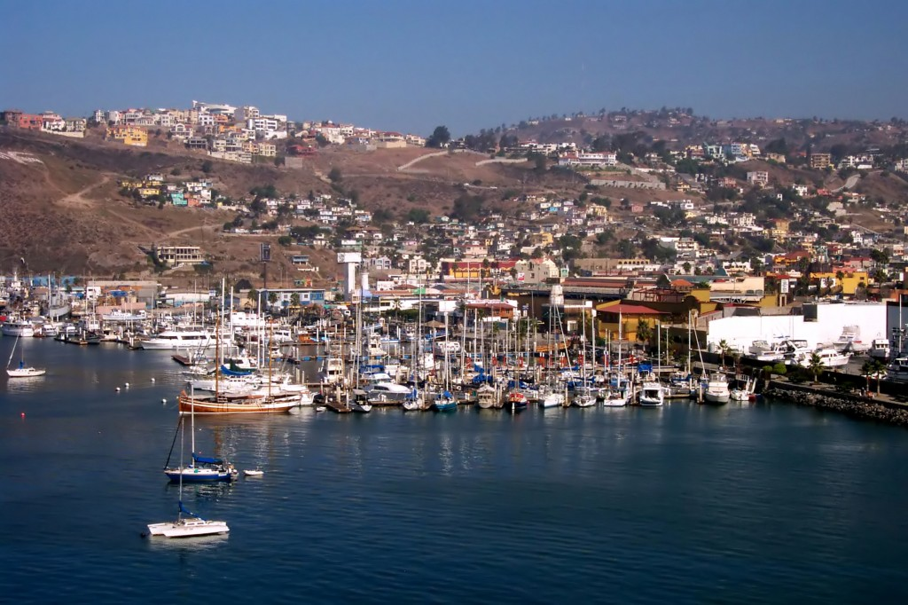 Ensenada Port Baja Mexico