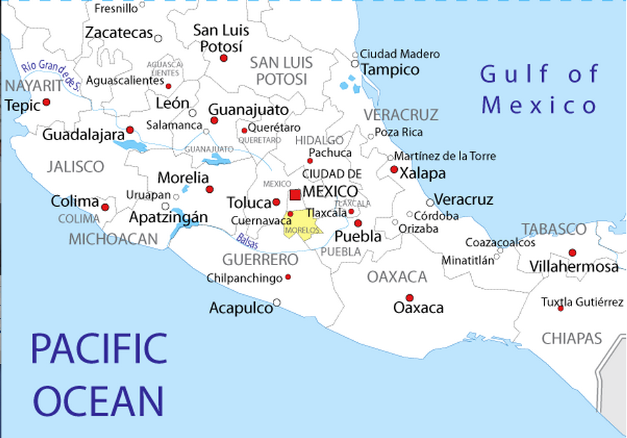 Mexico Maps And Culture - Lessons - Tes Teach