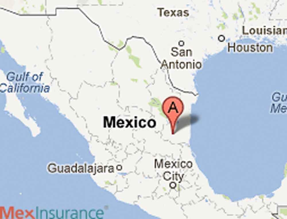 El Cielo Biosphere Tamaulipas on the Map