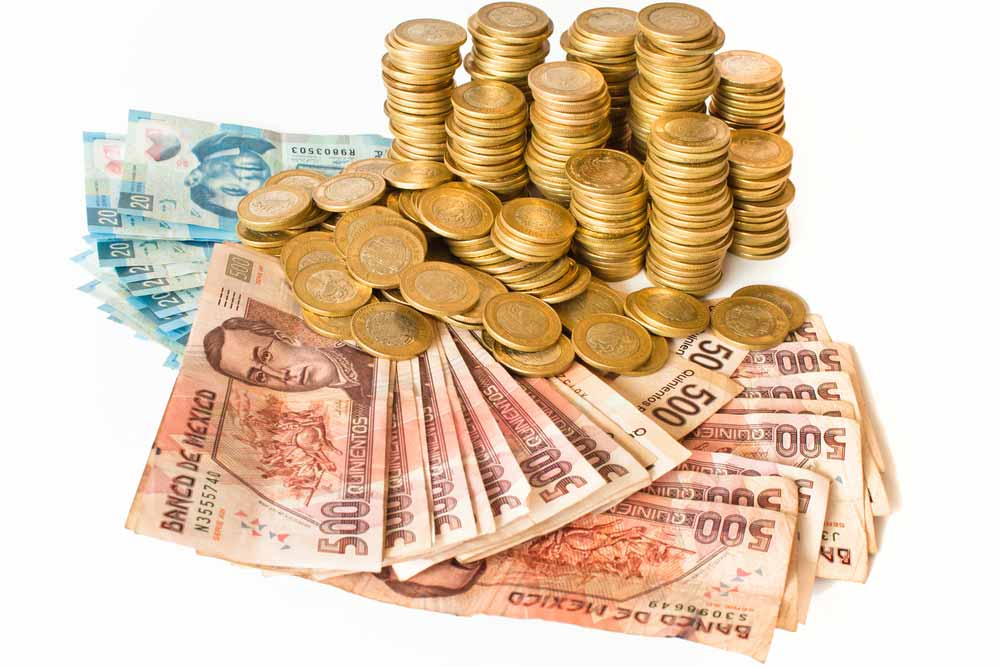 Cash in Mexico
