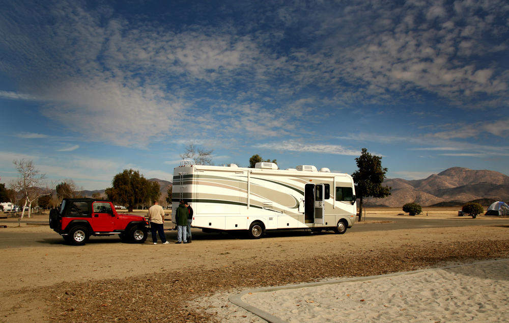 RV Camping in Baja California