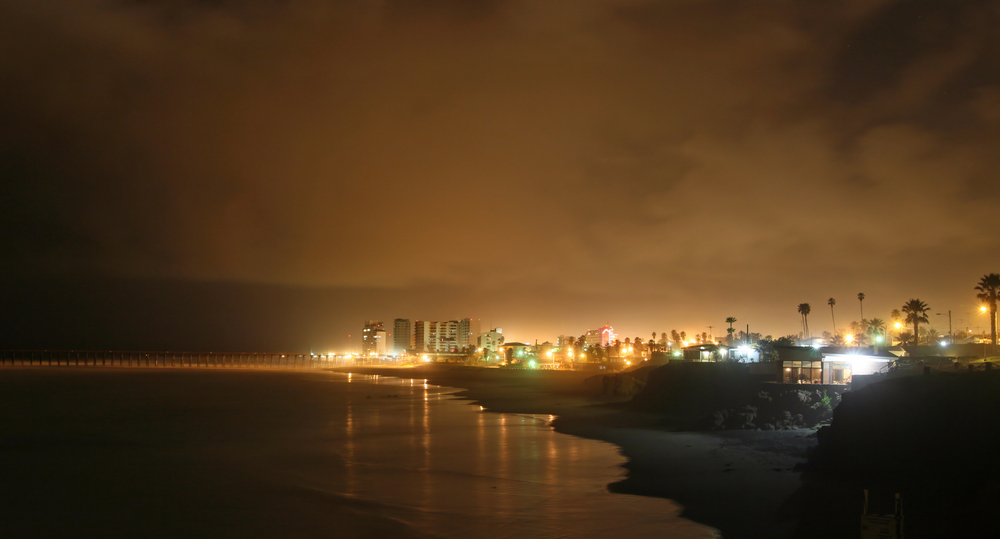 Rocky Point at Night