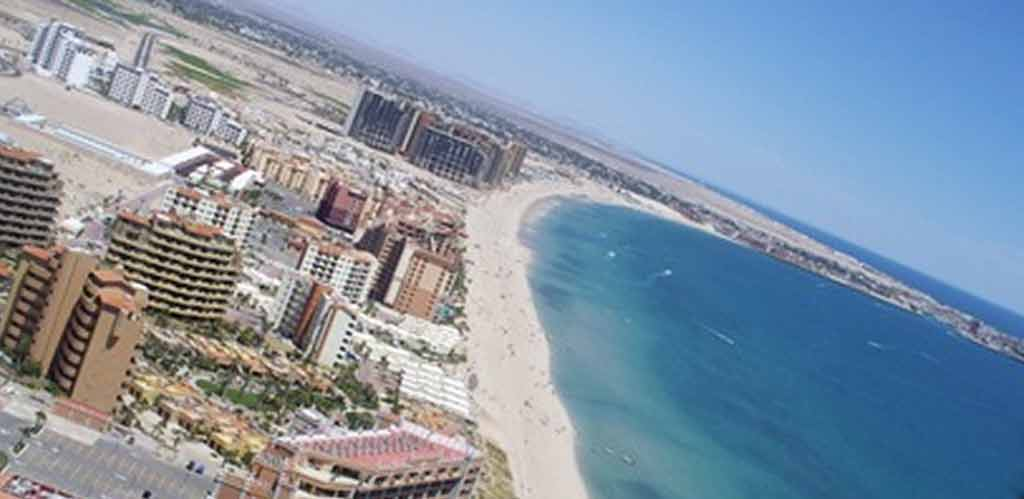 rocky point aerial view