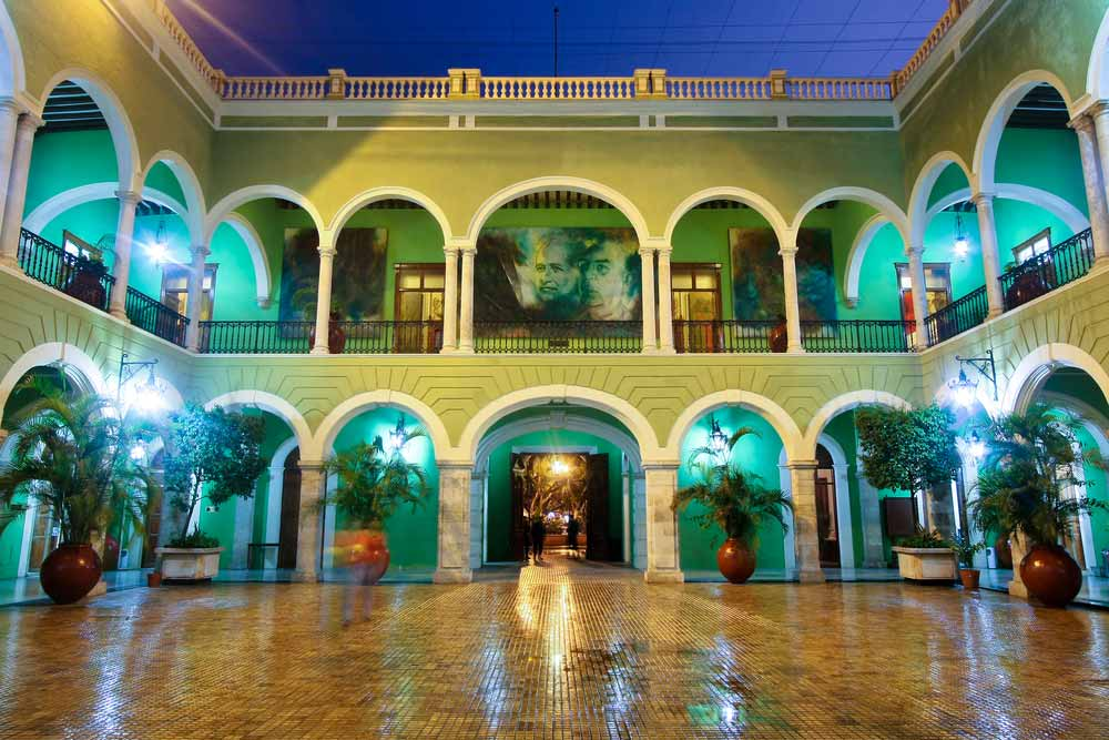 Central Courtyard Governors Building Merida