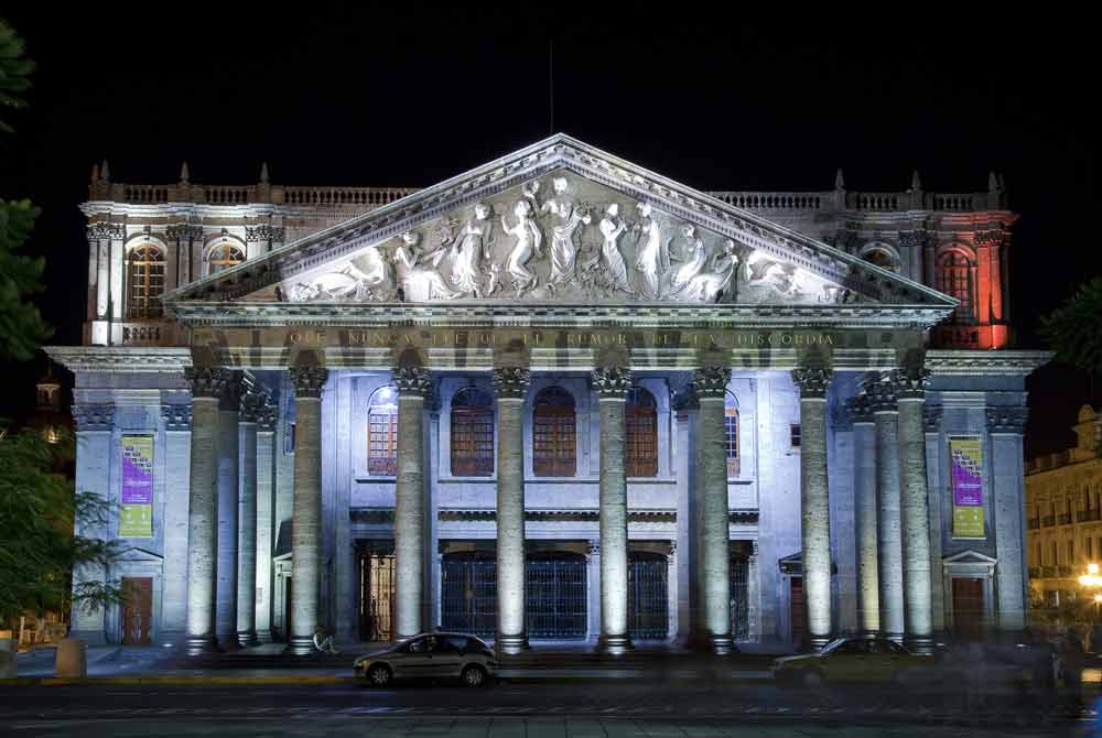 Historical Theatre in Guadalajara, Jalisco