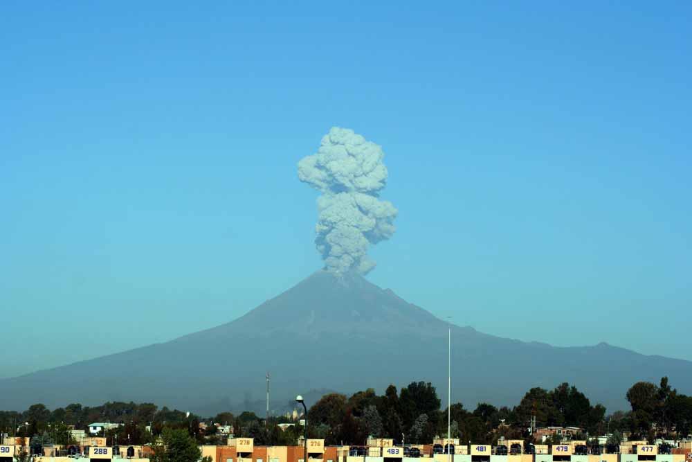Popocatépetl puff