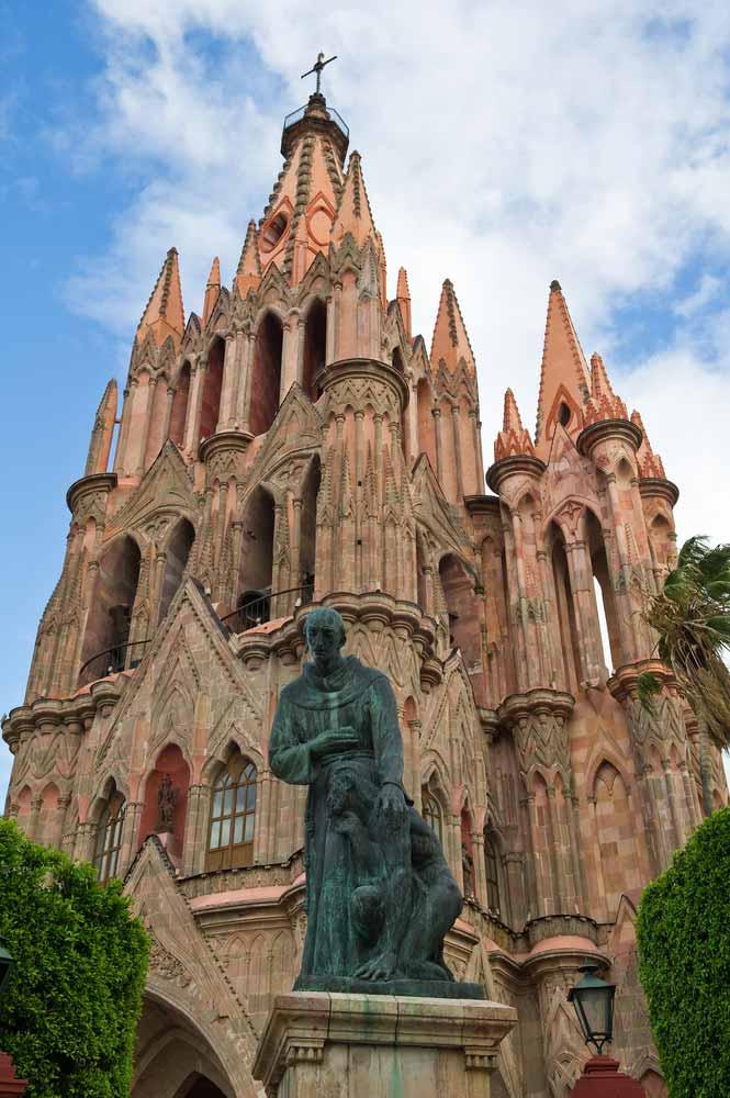 San Miguel De Allende St Michael Cathedral