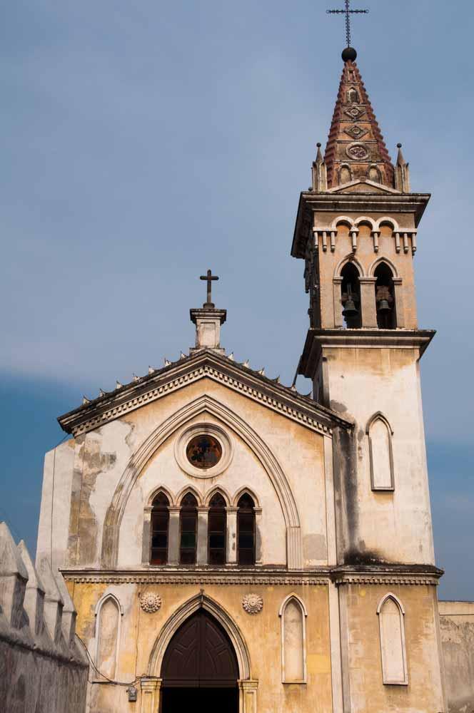 Chapel of Carmen Cathedral Cuernavaca