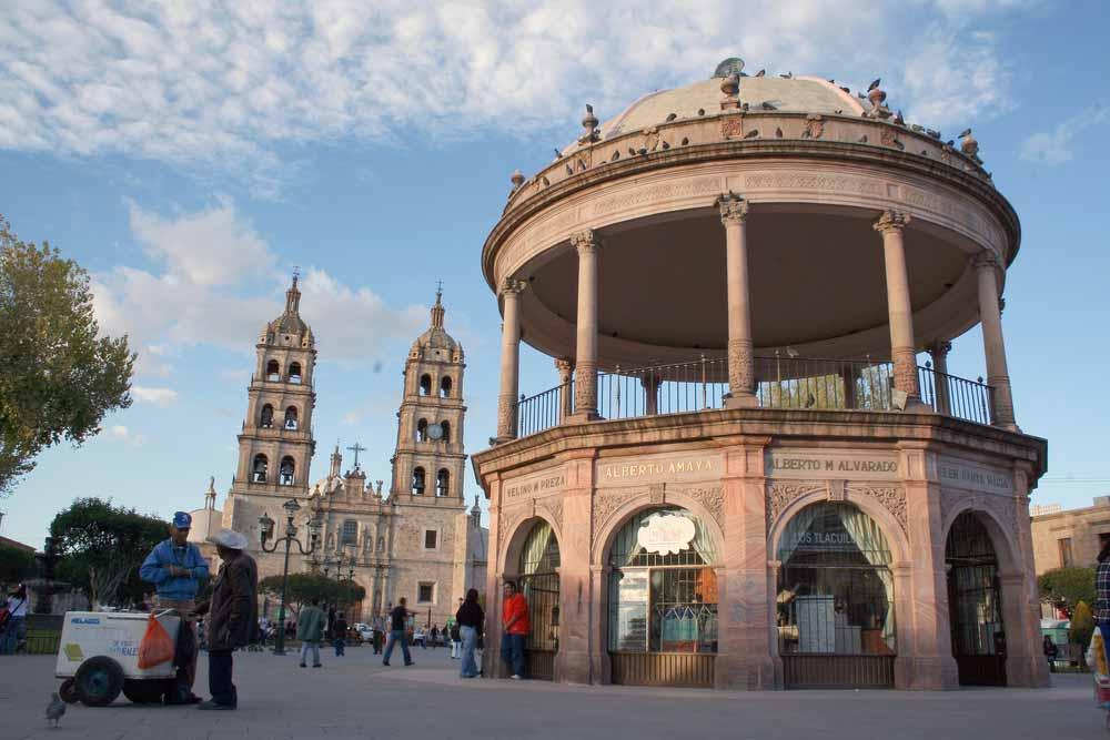 Plaza en Durango