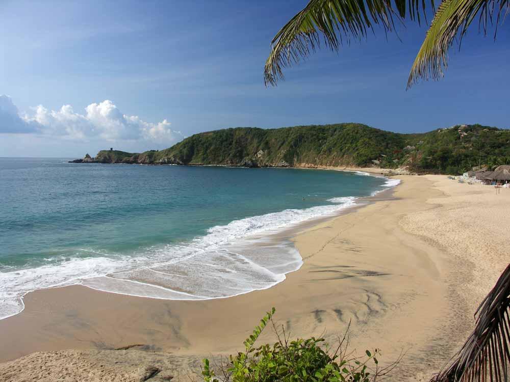 Sandy Beach of Mazunte