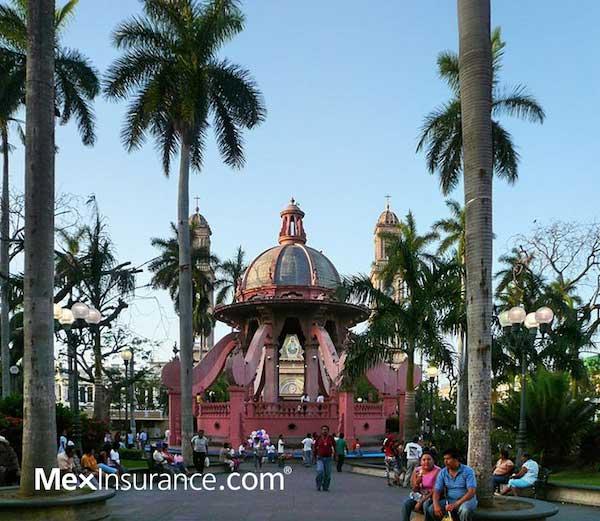 Tampico Tamaulipas Central Plaza
