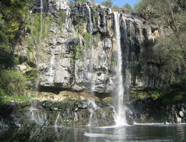 Tlaxcala waterfall