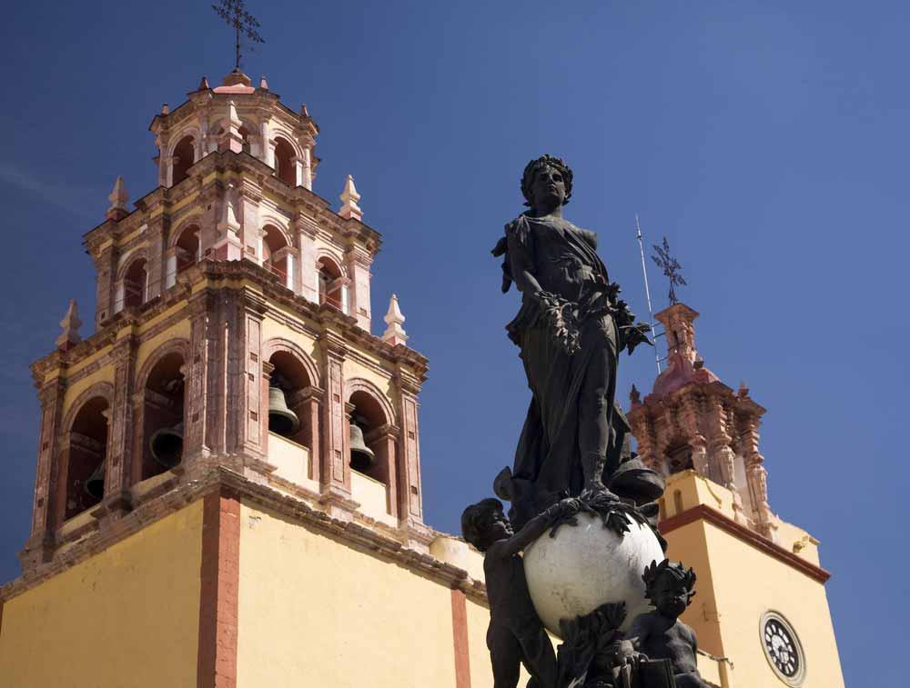 Basilica of our Lady of Guanajuato, Basilica de Nusetra Senora Guanajuato, Mexico