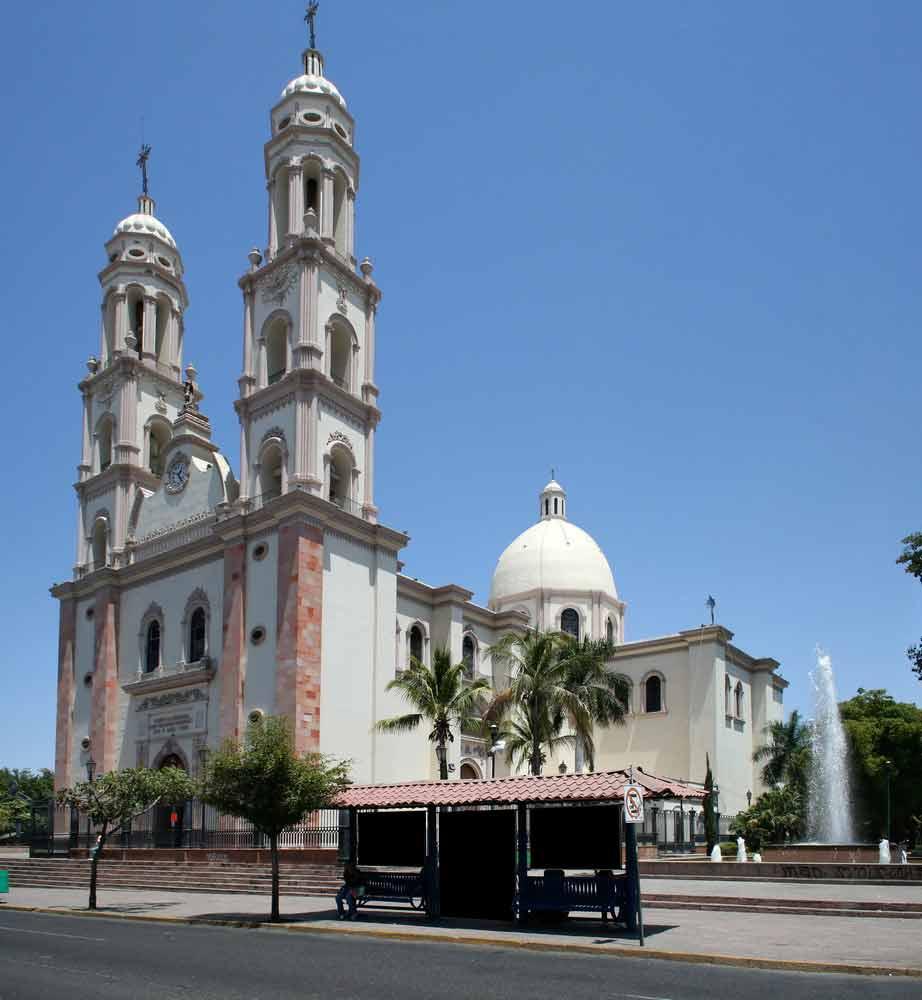 Cathedral in Culiacan Sinaloa