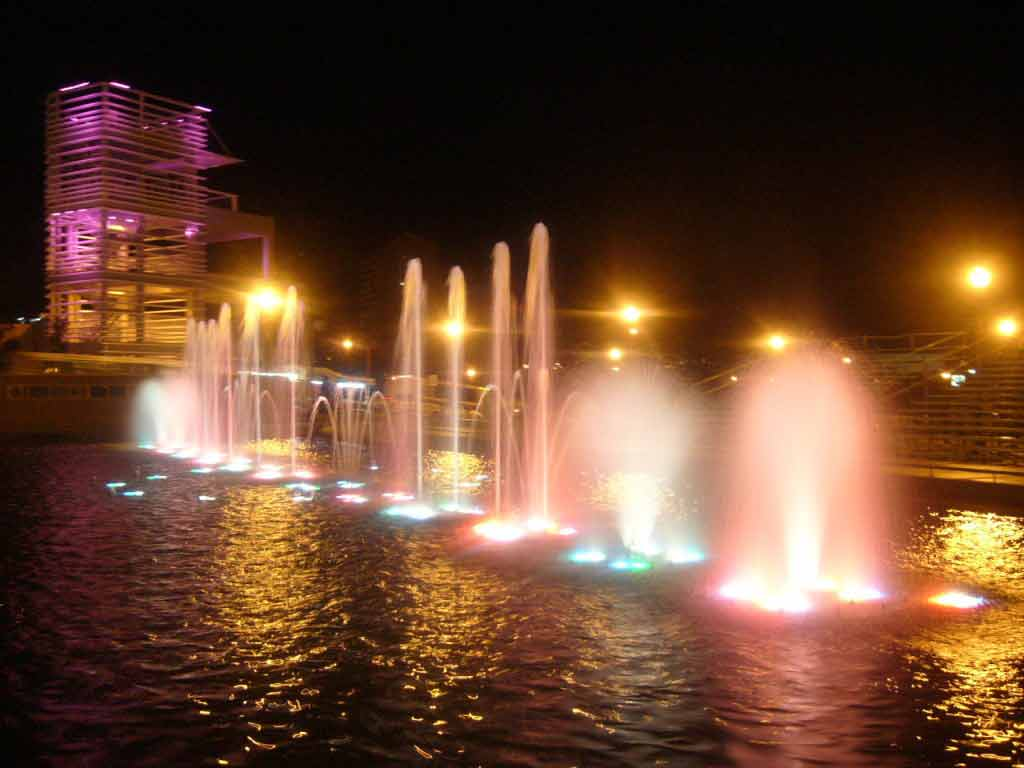 Dancing Fountains in Chihuahua