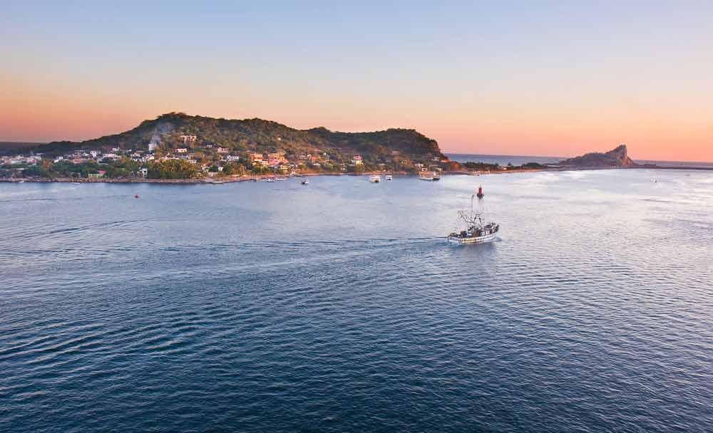 Sinaloa FIshing Boat