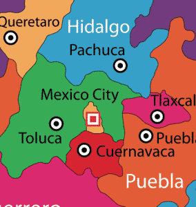 Mexico State on the Map