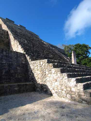 Stairway of the Great Pyramid of Calakmul