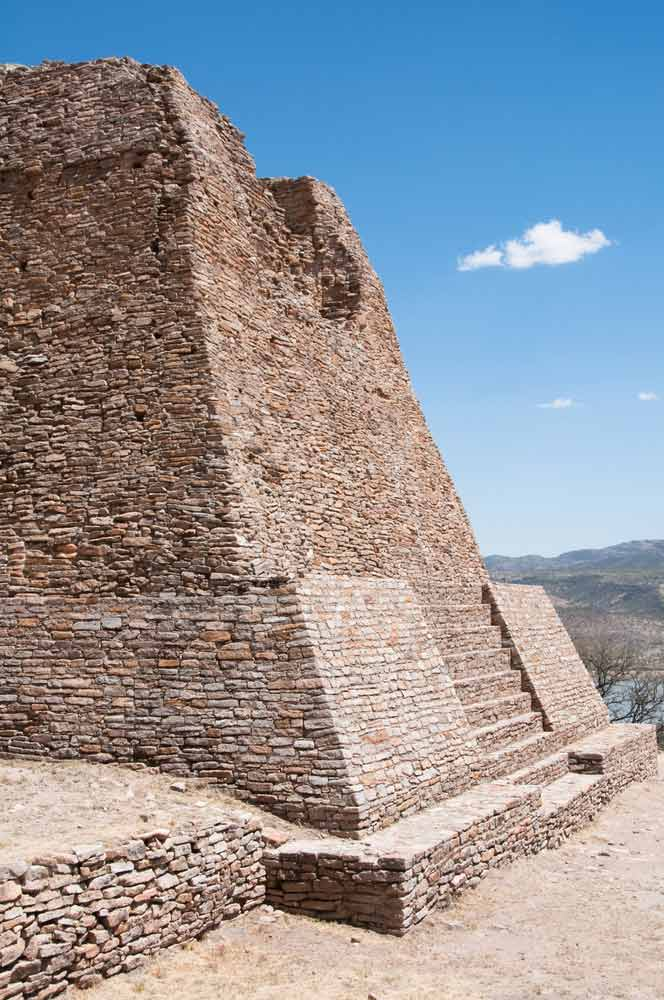 Votiva pyramid Archaeological site of La Quemada