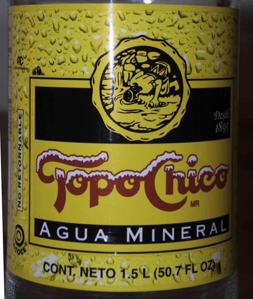 Topo Chico Label