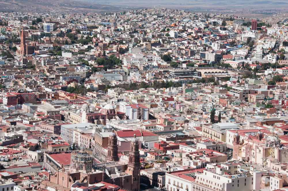 zacatecas colorful town mexico