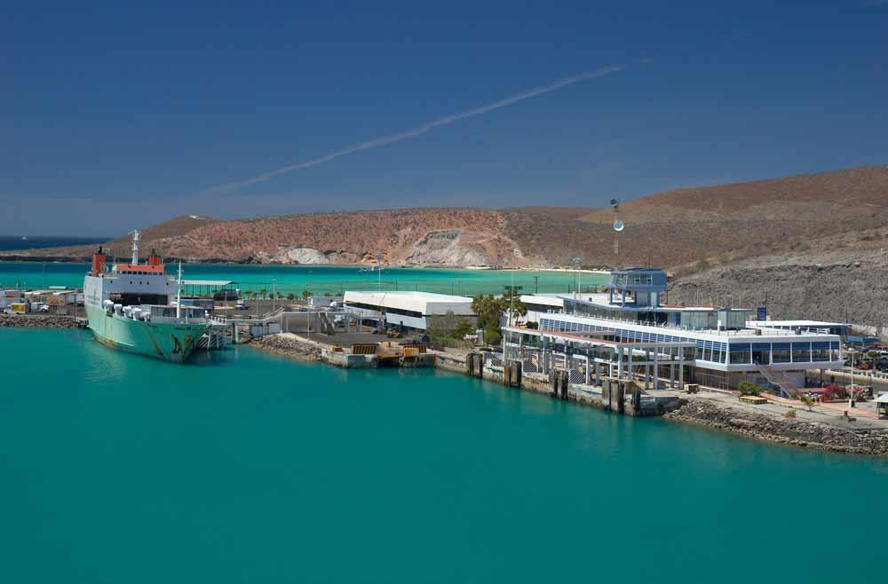 Pichilingue Harbour, La Paz, Baja California, Mexico