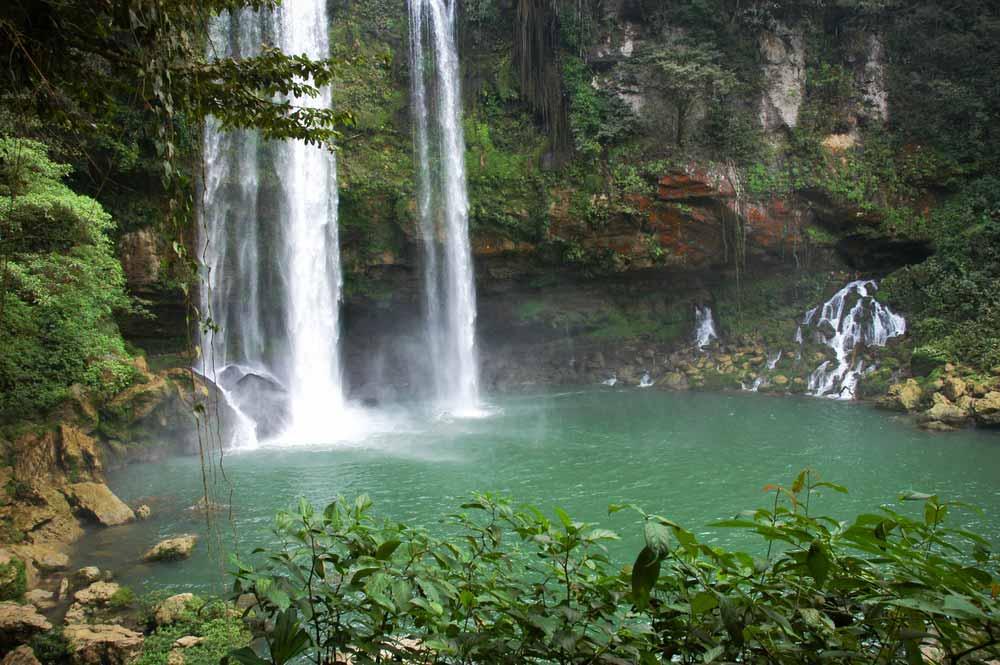 Agua Azul Palenque Mexico