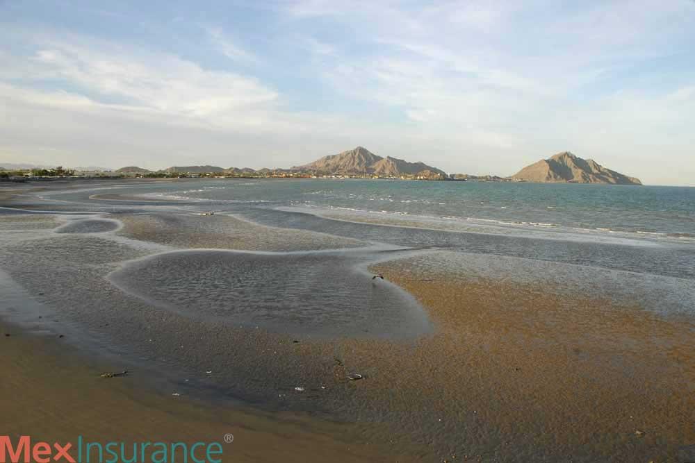low tide beach san felipe