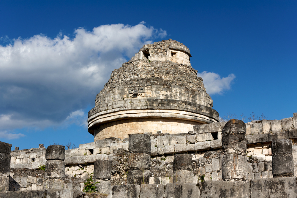mayan ruin thought to be observatory