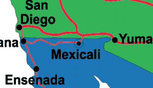 mexicali on map