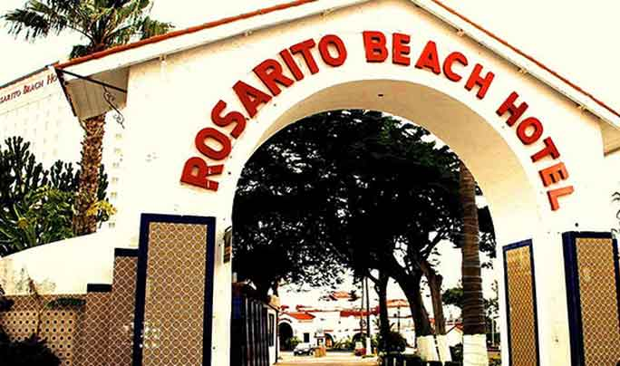 Rosarito Beach Hotel Entrance