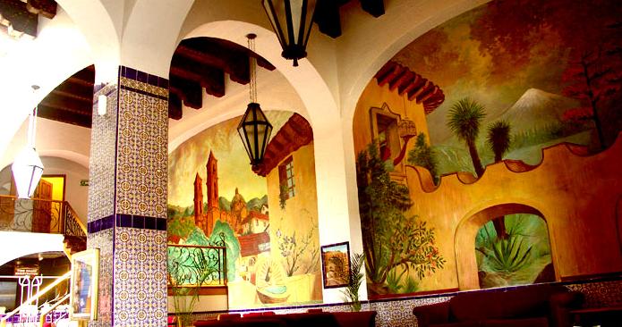 Rosarito Beach Hotel Interior