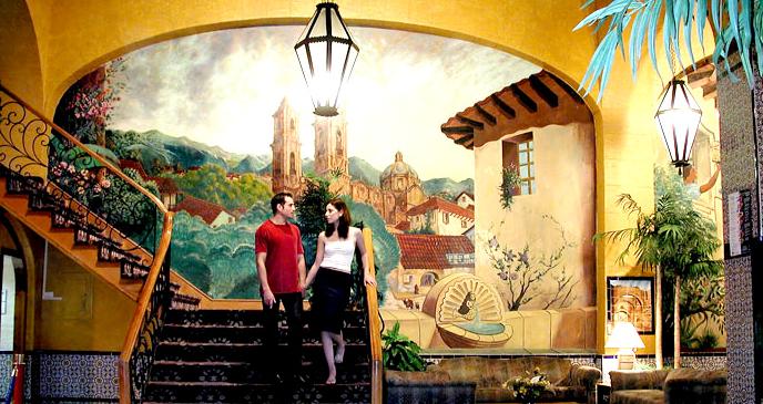 Rosarito Beach Hotel Stairs