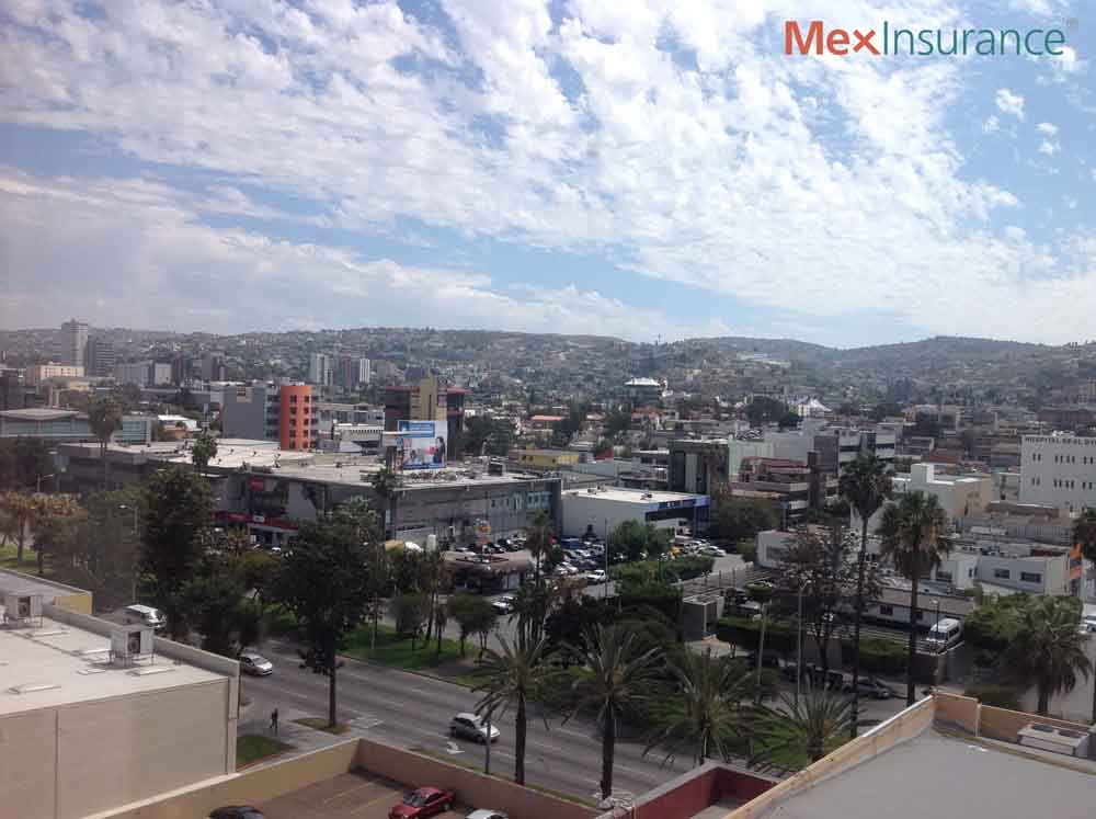 View from my room at Camino Real Tijuana