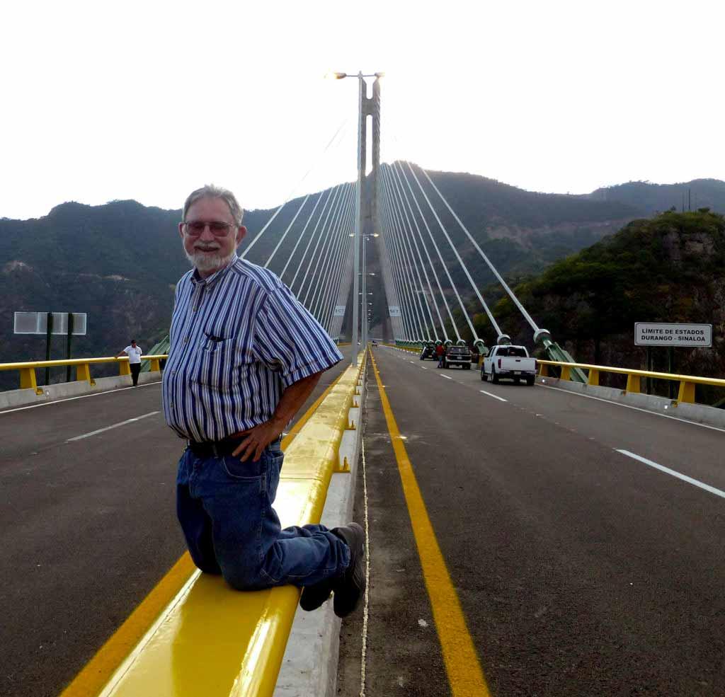 Mike Nelson on Baluarte Bridge - Sinaloa Durango