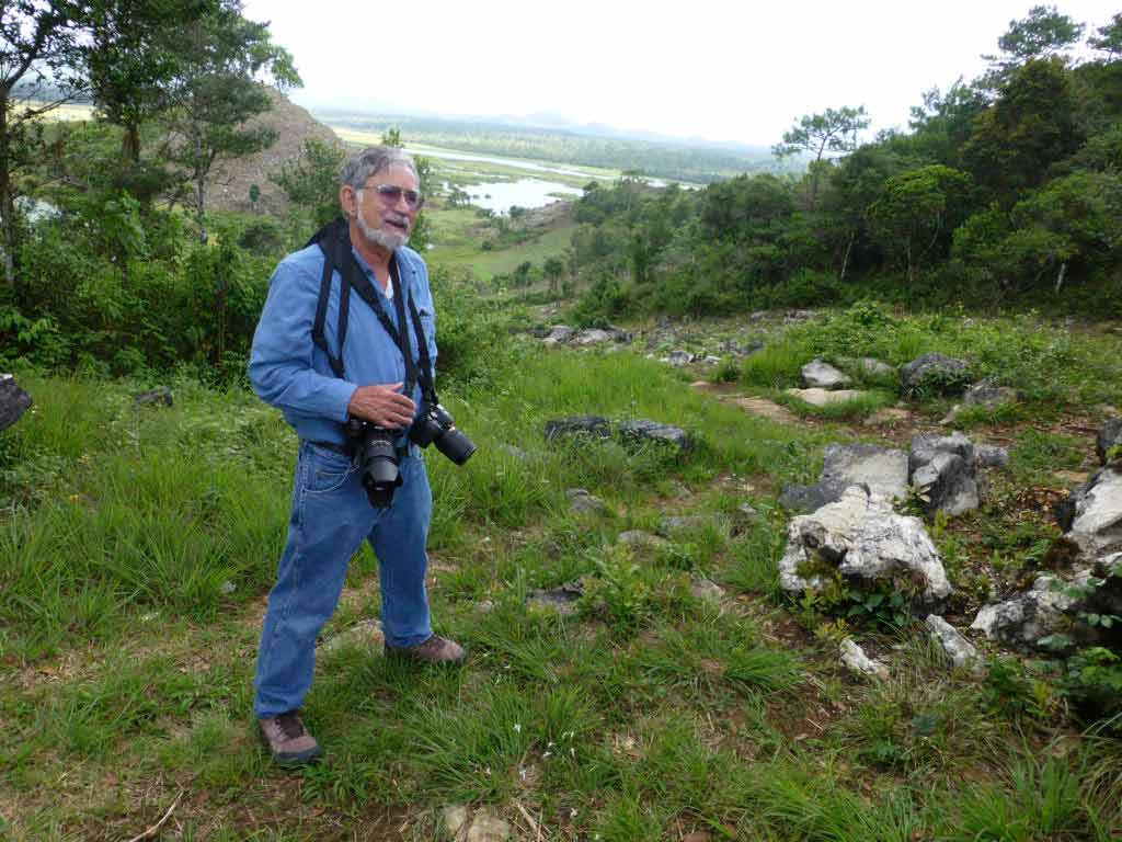 Mike Nelson in Tabasco capturing the moment with his camera