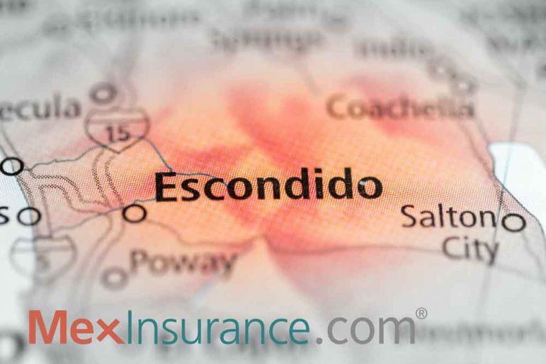 Escondido on the Map