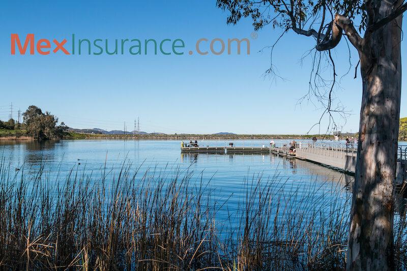 Lake Jennings Fishing Pier in Lakeside CA