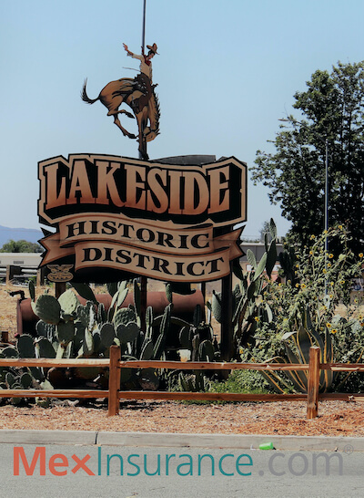 Lakeside CA is a historic town in San Diego County
