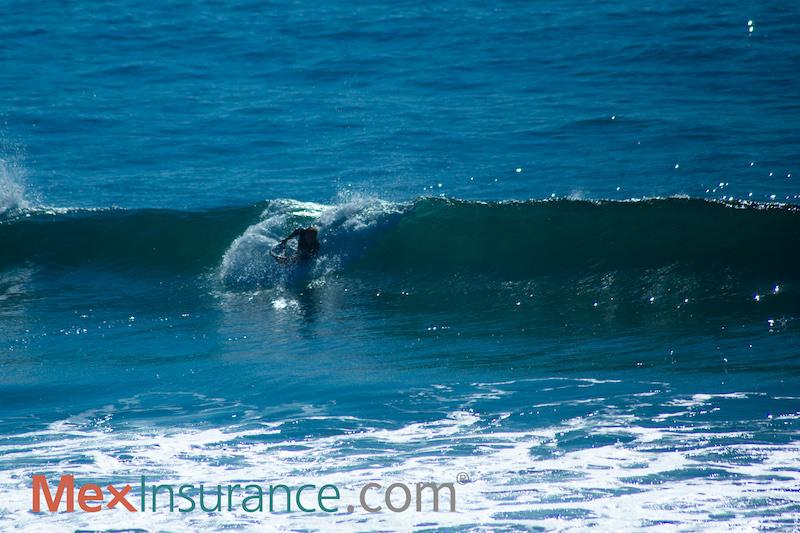 Charles Lundy bodyboarding Baja