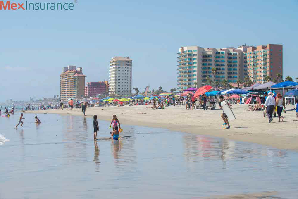 Beach Day in Rosarito, Baja California