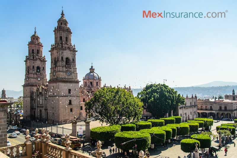 Catedral de Morelia in Michoacan