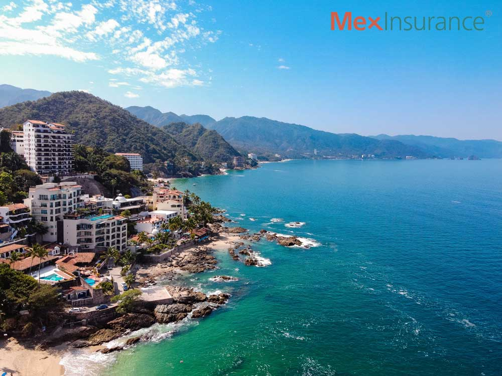 Conchas China Beach Puerto Vallarta Jalisco - MexInsurance.®