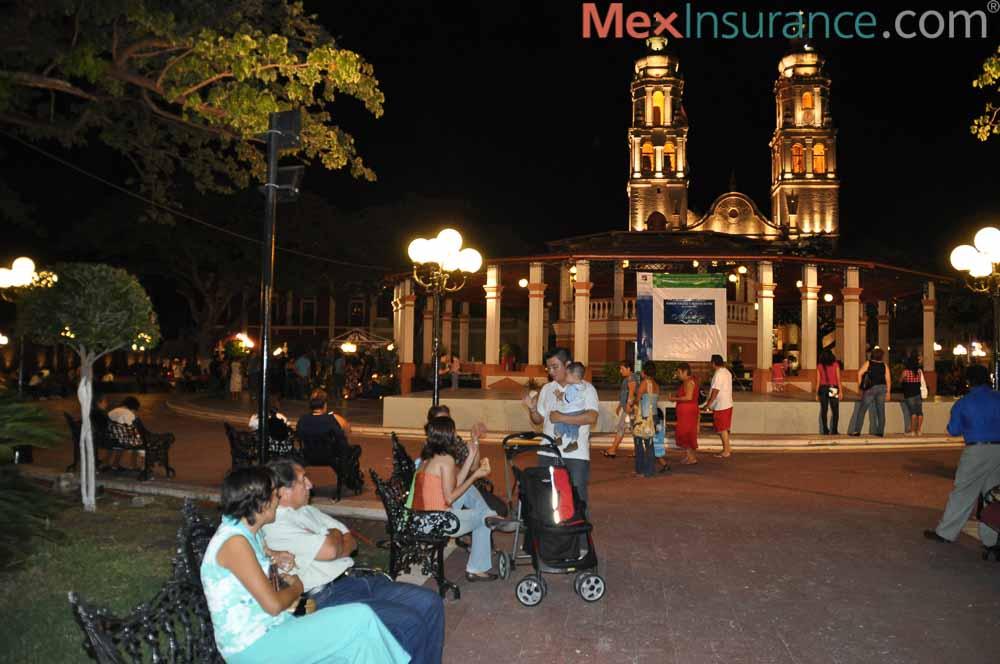 Downtown Campeche Evening