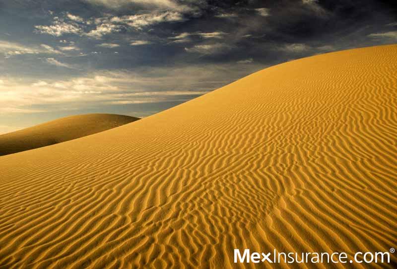 MexInsurance.com® in the El Centro dunes