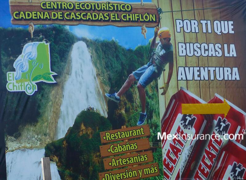 El Chiflon Sign - Chiapas