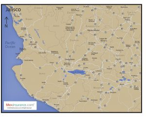 Jalisco State Map