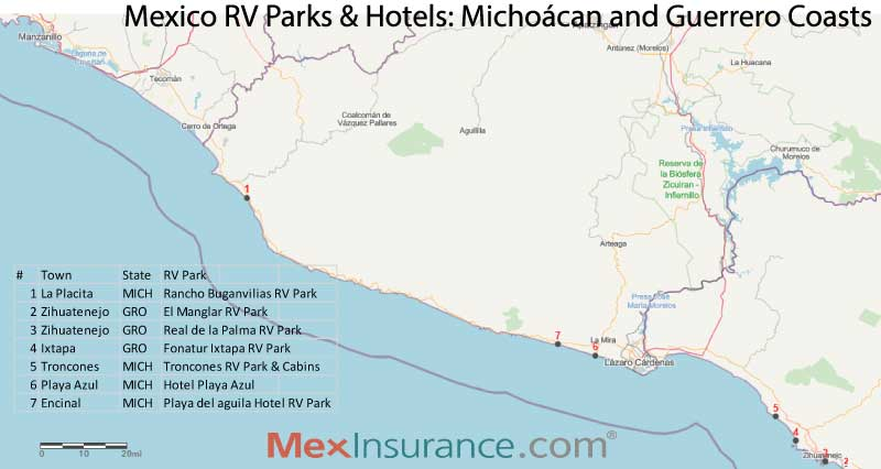 Mexico RV Guide Pacific Coast