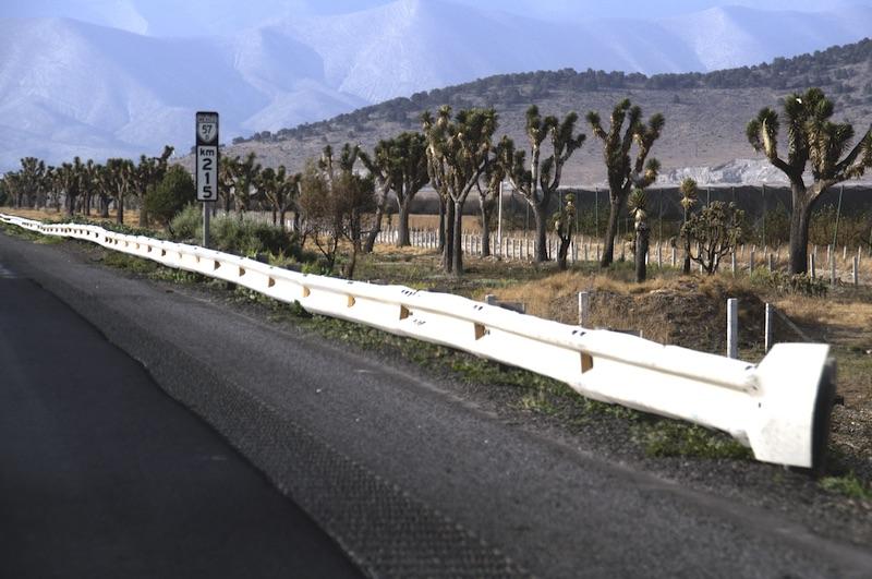 Monterrey High Desert Road