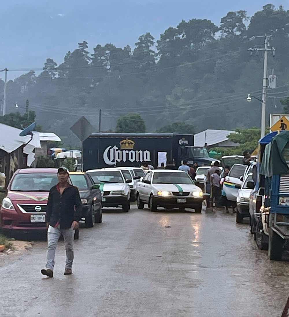 Encountering Blockades in Mexico